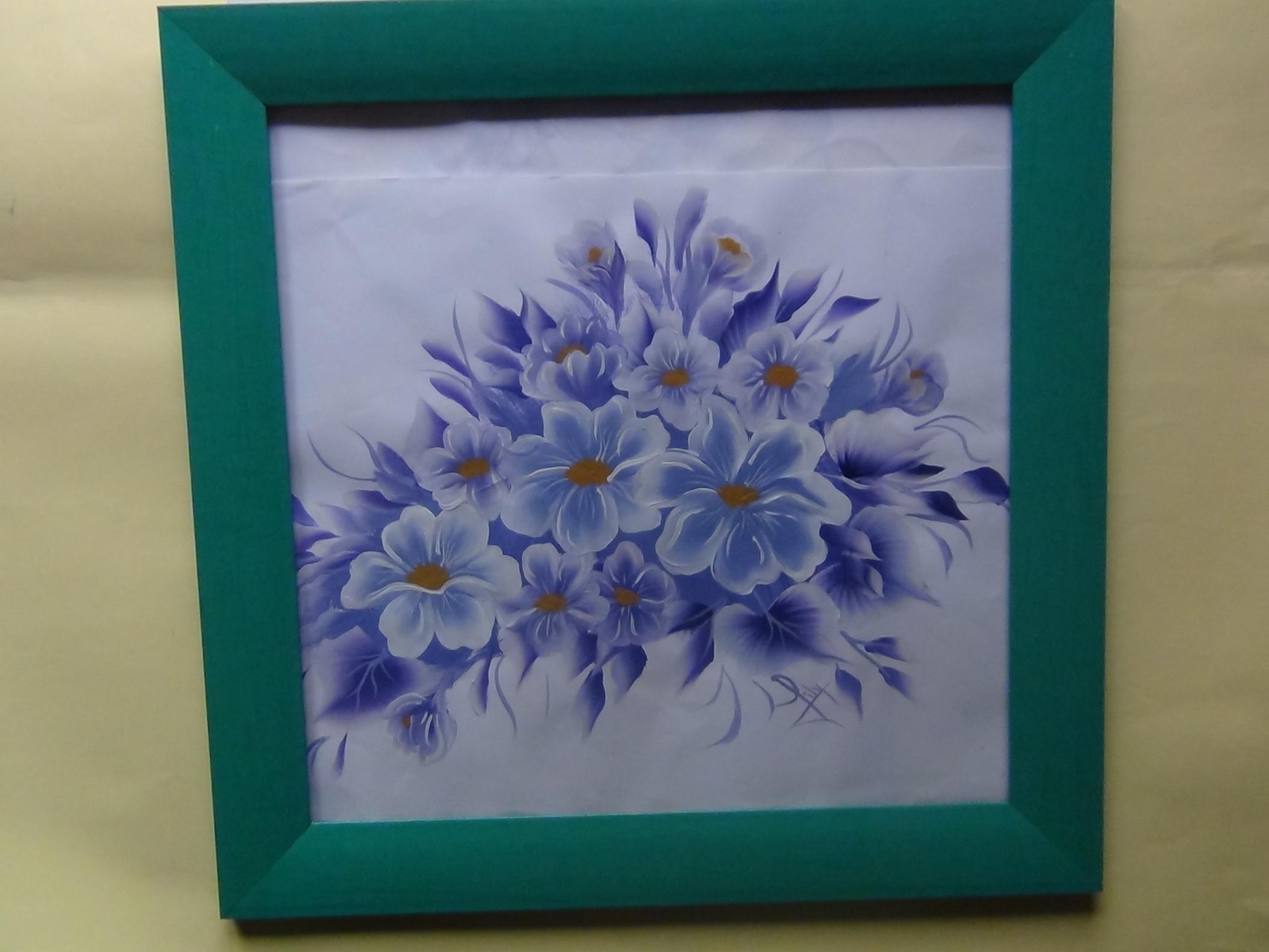 Diciembre 2011 como pintar flores - Aprender a pintar en madera ...